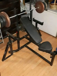 Bench Press, flat or adjustable incline Toronto, M6N 3H5