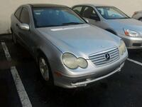2002 MERCEDES C230 RUNS GOOD  Miami, 33166