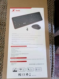 X Dodd Wireless Keyboard and Mouse  Hampstead, 21074