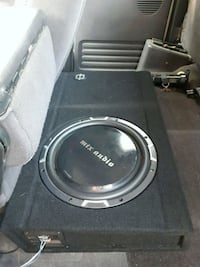"12"" sub with box + JL Amp Quinte West, K8V 5P8"