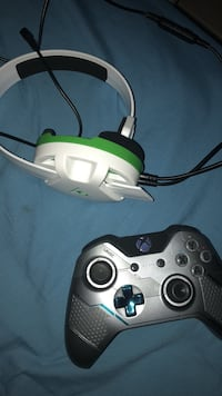 xbox one halo controller & headset Slidell, 70458