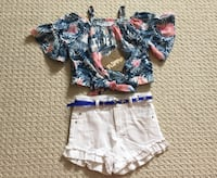 Brand New Top and short set Mississauga, L5N