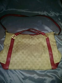 brown and red leather hobo bag Clovis, 93612