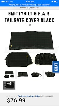 Jeep Wrangler Smittybilt G.E.A.R. Molle Tailgate  Hagerstown