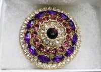 Absolutely gorgeous Monet brooch Odessa, 64076
