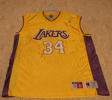 Shaquille O'Neal Lakers Jersey SZ 56 3XL