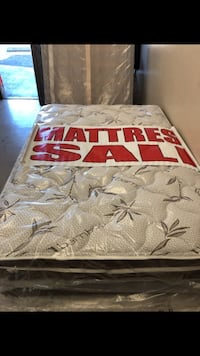 Full mattress with boxspring  Los Angeles, 90032