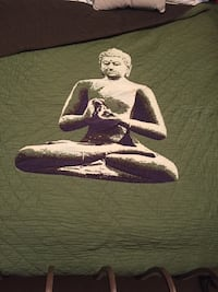 Buddha Queen Quilt Cotton
