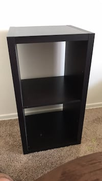 black wooden 3-layer shelf Huntington Beach, 92647