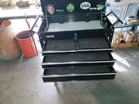 black and gray metal tool chest Denver, 80239