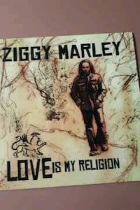 "Ziggy Marley ""Love Is My Religion"" vinyl album"