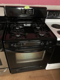 Frigidaire Black black gas stove Woodbridge, 22191