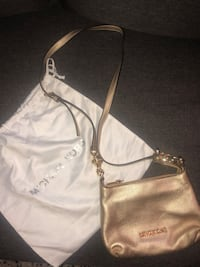 GOLD Michael Kors Crossbody Purse w/ Dustbag Washington, 20016
