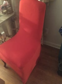 Beautiful Red Chair Covers null