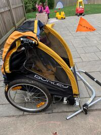 Burley D'Lite bike trailer double child trailer Chevy Chase, 20815