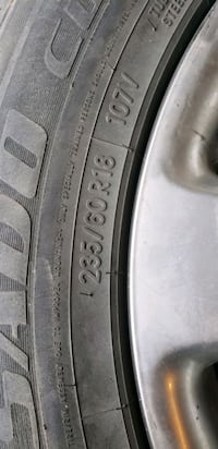 Used Tires  Brampton, L6X 3W5