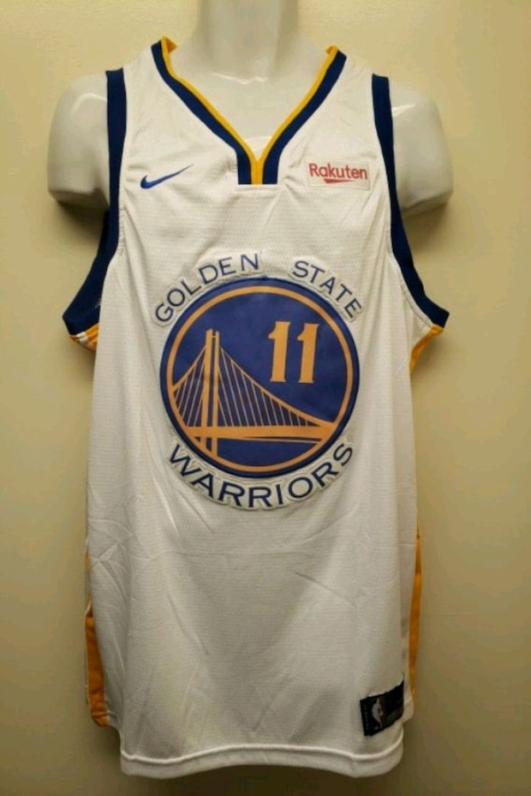 the latest 650d3 62ce0 Klay Thompson Golden State Warriors jersey