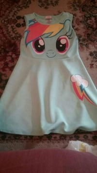 Girls my lil pony dress