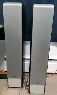Two infinity speakers Coquitlam, V3J 4S8