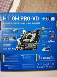 H110M PRO VD anakart 1151 DDR4
