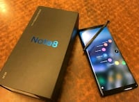 Samsung Galaxy Note 8 Unlocked in Excellent condition  Kitchener, N2M 5A5