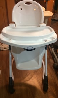 White plastic feeding chair Calgary, T2J 6C4