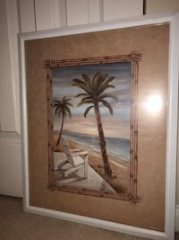 Palm tree painting print Rockville, 20852