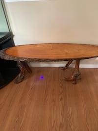 Unique tree ring coffee table Spruce Grove, T7X
