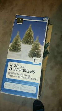 Only 2(2ft prelit small trees)
