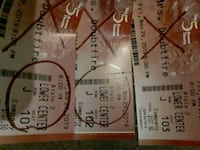 3 tickets Mrs doubtfire musical comedy broadway