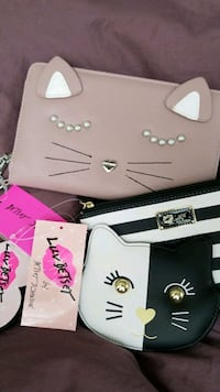 Betsey Johnson Wallet, Coin Purse, Pouch.