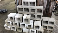 "Free Cinder blocks. 11-16"" and 14-8"" also 4x4 posts. Mix of 8' and 16' West Melbourne, 32904"