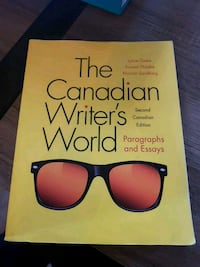 THE CANADIAN WRITER'S WORLD 2ND EDITION  Mississauga