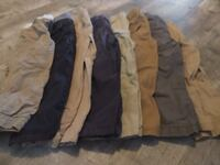 Size 3t childrens cargo pants, 8 pairs ENGLEWOOD