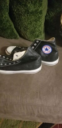 LEATHER HIGH TOP CONVERS size 12