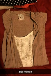 women's brown scoop-neck shirt Paris, 40361