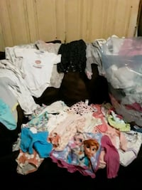 Baby girl clothes all sizes $20