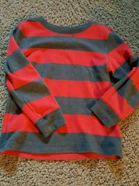 Cat & Jack 4T red thermal  Riverbank