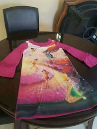 Girls night gown size 7/8 Moreno Valley, 92557