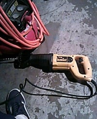 black and red corded power tool 2276 mi