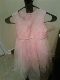 Little girl Easter dress size dress size 6× tie bo Alexandria