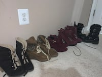 Shoes all size 8 all in good condition sold all together  Ranson, 25438