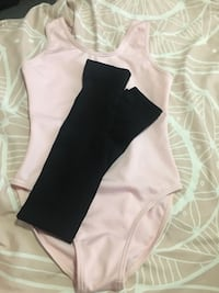 Pink dance bodysuit and tights Guelph, N1E 6W4