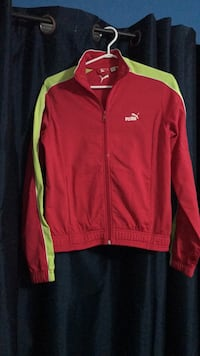 red and yellow Adidas zip-up jacket Mississauga, L5L 5H7