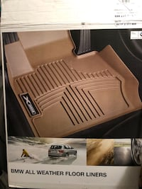 BMW rubber/all season floor mats