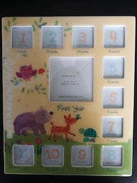 Papyrus 12 month baby picture frame - brand new EDMONTON