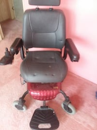 black and red motorized wheelchair Belleview, 34420