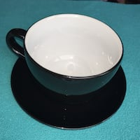"""Large """"Cup & Saucer"""" Bowl and Plate Winnipeg, R2M 2H1"""
