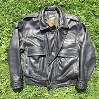 Mens Neto Leather Jacket - Large - Like New - Motorcycle Jacket Kelowna, V1X