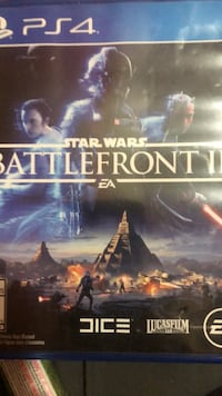 Need it gone Star wars battlefront ps4 game will game trade as well